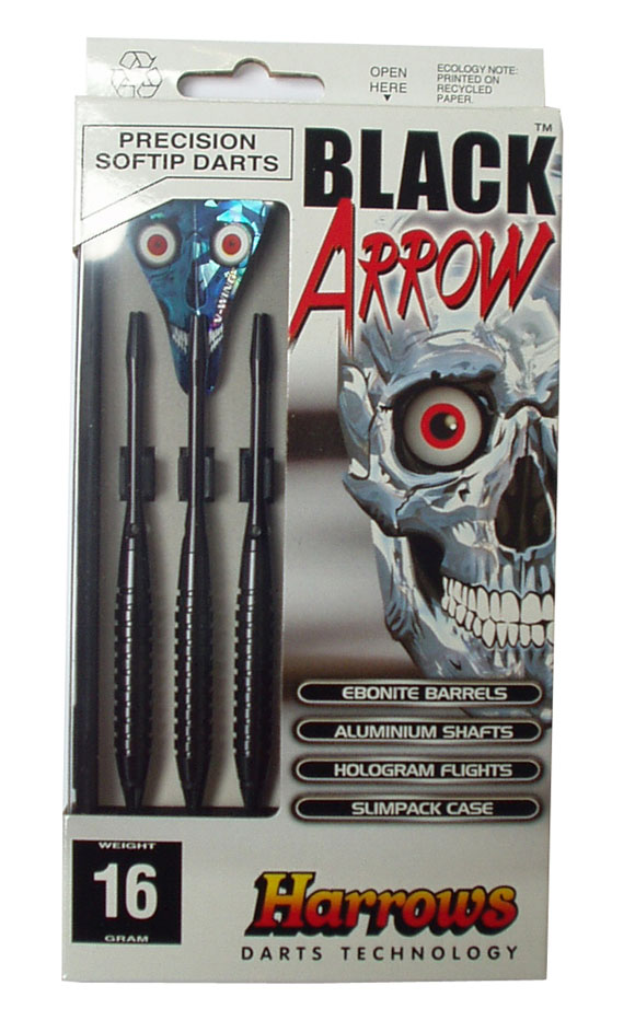 HARROWS SOFT BLACK ARROW 16g